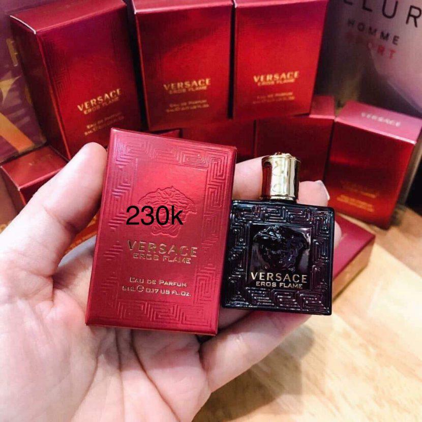 Nước hoa nam Versace Eros đỏ Flame EDP 5ml chính hãng (Ý)