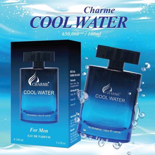 Nước Hoa Nam Charme Cool Water 100ml Chính Hãng.