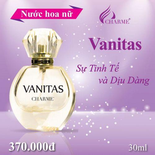 Nước Hoa Charme Vanitas 30ml Nữ Chính Hãng.