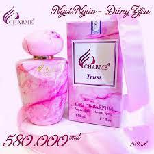 Giới thiệu về nước hoa Charme Trust 50ml chính hãng.