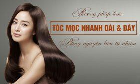 Cách dưỡng tóc nhanh dài cho nữ trong 7 ngày, Hiệu Quả Ngay